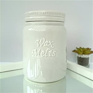 Wax Melt Storage Jar